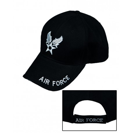 Casquette Baseball Air Force - Casquette Air Force Noire Quaerius