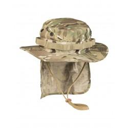 Bob Anglais Avec Neckflap - Chapeau Militaire Désert Quaerius