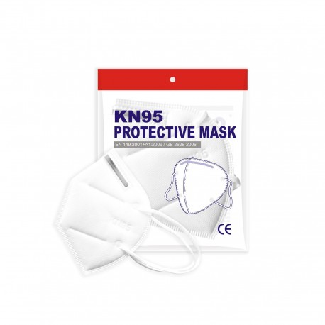 Lot de 10 Masque de Protection Respiratoire N95 (type FFP2)