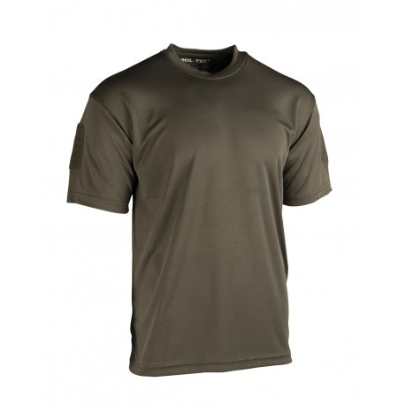 T-Shirt Tactique QuickDry Mil Tec - T-shirts Quaerius