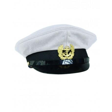 Casquette Marine Avec Insigne - Casquette Marins Quaerius