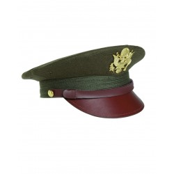 Casquette Officier US Avec Insigne - Casquette Militaire Officier Quaerius