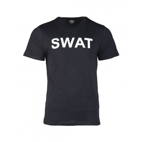 T-shirt Swat Noir Mil Tec - T-shirt Quaerius