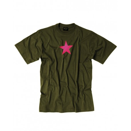 T-shirt Red Star Mil Tec - T-shirt Quaerius
