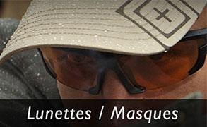 Lunettes Masques Tir Militaire