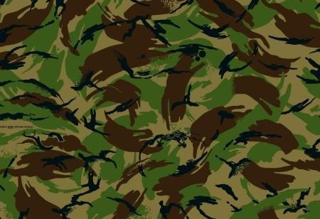 Camouflage DPM (Disrupted Pattern Material)
